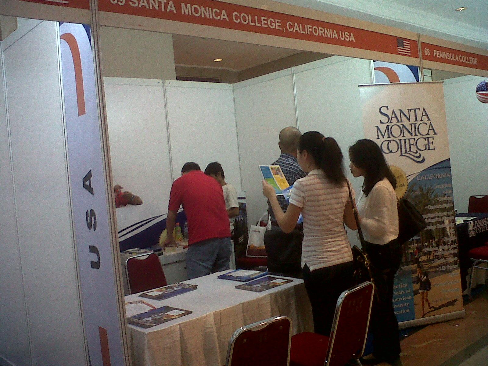 Unistart News Events SMC Santa Monica College at IKPII event